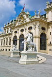 Palácio do Belvedere, Viena, Áustria Fotos de Stock
