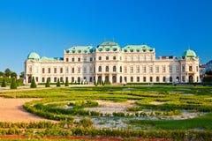 Palácio do Belvedere, Viena foto de stock royalty free