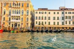 Palácio do Ca 'Giustinian de Veneza em Grand Canal imagem de stock royalty free