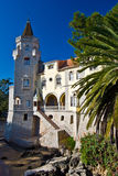 Palácio do Condes de Castro Guimaraes Fotos de Stock