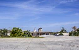 Palácio do conjunto ou da assembleia legislativa, Chandigarh, Índia Imagens de Stock Royalty Free