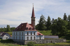 Palácio do convento em Gatchina Fotografia de Stock Royalty Free