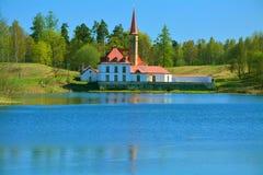 Palácio do convento Gatchina St Petersburg, Rússia Fotos de Stock Royalty Free