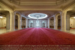 Palácio do corredor do parlamento Fotografia de Stock Royalty Free