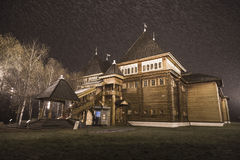 Palácio do czar Alexei Mikhailovich em Kolomenskoye Fotografia de Stock
