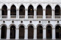 Palácio do Doge foto de stock