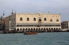 Palácio do doge de San Marco em Veneza, Itália imagens de stock royalty free