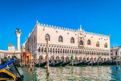 Palácio do Doge em Veneza, Italy fotografia de stock royalty free
