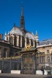 Palácio do entran da parte dianteira de justiça Imagem de Stock