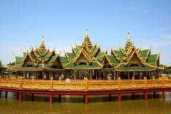 Palácio do estilo de Burma Fotografia de Stock