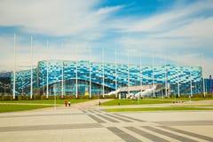 Palácio do gelo em Sochi Fotografia de Stock Royalty Free
