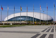 Palácio do gelo grande Fotografia de Stock Royalty Free