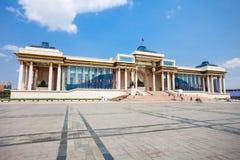 Palácio do governo em Ulaanbaatar Imagens de Stock