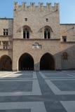 Palácio do grão-mestre imagem de stock royalty free