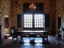 Palácio do grão-mestre dos cavaleiros de Rhodes Greece foto de stock royalty free