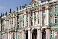 Palácio do inverno, Rússia Fotografia de Stock