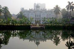 Palácio do jardim de rosas Imagem de Stock Royalty Free
