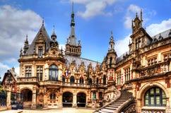 Palácio do licor beneditino, Fecamp, Normandie, França foto de stock