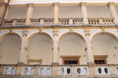 Palácio do monastério em Jicin Foto de Stock Royalty Free