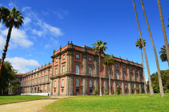Palácio do Museu Nacional de Capodimonte Nápoles, Italy Imagens de Stock Royalty Free