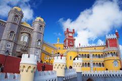 Palácio do nacional de Pena Fotos de Stock Royalty Free