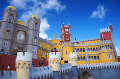 Palácio do nacional de Pena Imagem de Stock Royalty Free