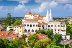 Palácio do nacional de Sintra Imagem de Stock Royalty Free