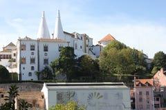 Palácio do nacional de Sintra Foto de Stock Royalty Free