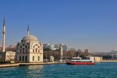 Palácio do otomano de Dolmabahce imagens de stock