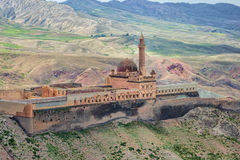 Palácio do otomano do Pasha de Ishak foto de stock