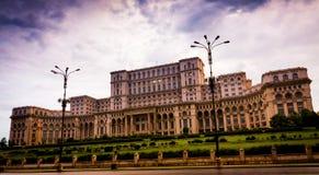 Palácio do parlamento Imagens de Stock Royalty Free