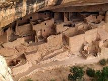 Palácio do penhasco---Mesa Verde Fotografia de Stock