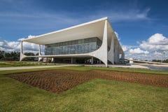 Palácio do Planalto - Brasília - DF - Brazil. Palácio do Planalto (Planalto Palace) - The official workplace of the President of Brazil - Brasília royalty free stock photography