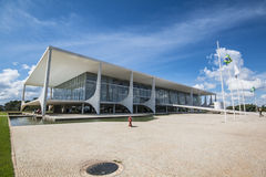 Palácio do Planalto - Brasília - DF - Brazil. Palácio do Planalto (Planalto Palace) - The official workplace of the President of Brazil - Brasília royalty free stock image