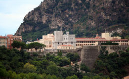 Palácio do príncipe de Mônaco fotografia de stock royalty free