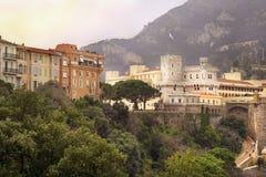 Palácio do príncipe de Monaco Fotografia de Stock