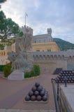 Palácio do príncipe em Monaco imagens de stock