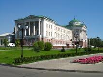 Palácio do presidente de Udmurtia Fotografia de Stock