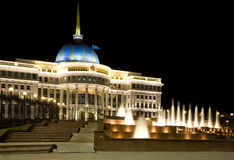 Palácio do presidente do Kazakhstan em Astana Foto de Stock