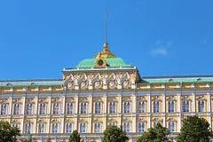 Palácio do presidente no Kremlin Fotografia de Stock Royalty Free