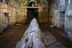 Palácio do ` s de Diocletian na separação, Croácia fotos de stock