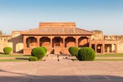 Palácio do ` s de Jodha Bai, Fatehpur Sikri, Uttar Pradesh, Índia foto de stock royalty free