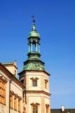 Palácio do `s do Bishop em Kielce foto de stock