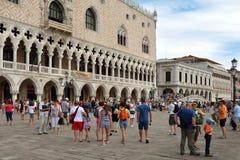 Palácio do ` s do doge em Veneza - Itália fotos de stock royalty free
