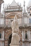 Palácio do ` s do doge, San Marco Piazza, Veneza, Itália imagem de stock royalty free