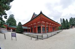 Palácio do santuário de Heian Foto de Stock