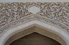 Palácio do Shirvanshahs na cidade velha de Baku, capital de Azerbaijão foto de stock