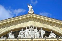 Palácio do sindicato da cultura em Minsk fotografia de stock