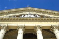 Palácio do sindicato da cultura em Minsk foto de stock