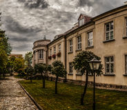 Palácio dos bispos em Lomza, Polônia fotografia de stock royalty free